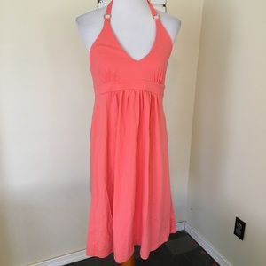 Victoria's Secret Halter Dress Bra Top Coral Pink